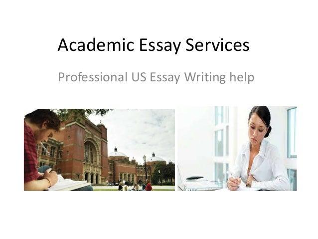Academic essay services