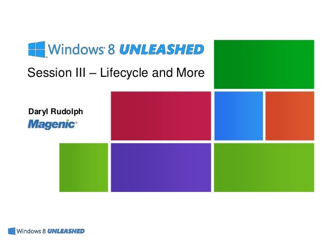 Windows 8 DevUnleashed - Session 3
