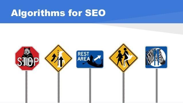 Algorithms for SEO