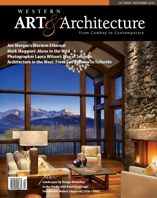western art and architecture magazine oct nov 2015 features fine