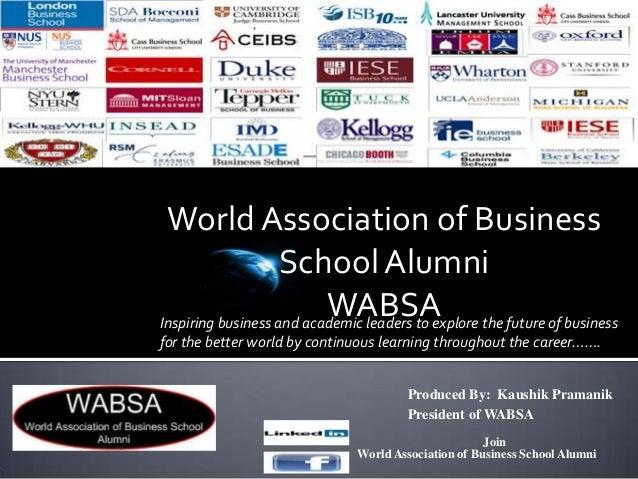 World Association of Business School Alumni