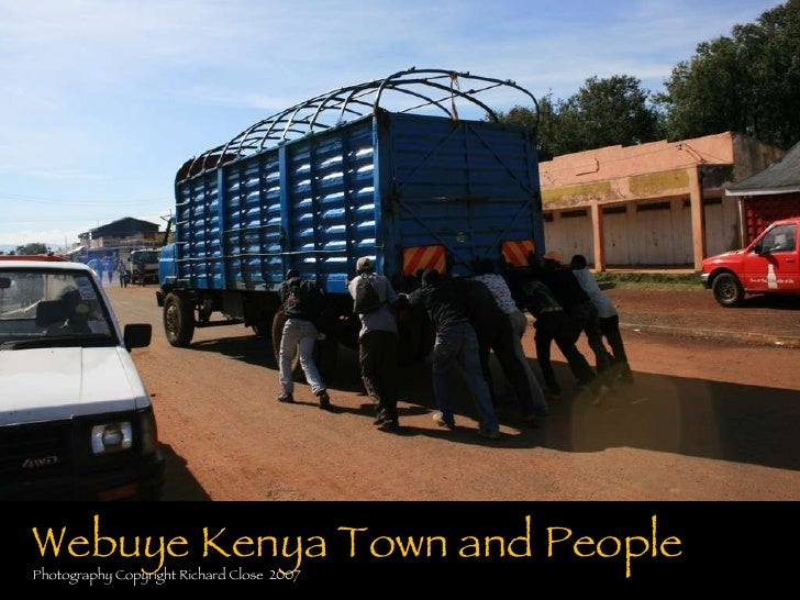 Wabuye Kenya Town And People