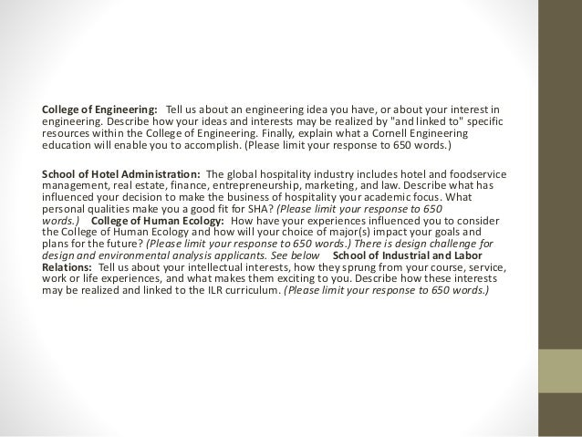 How TO BEGIN! Engineering application essay?