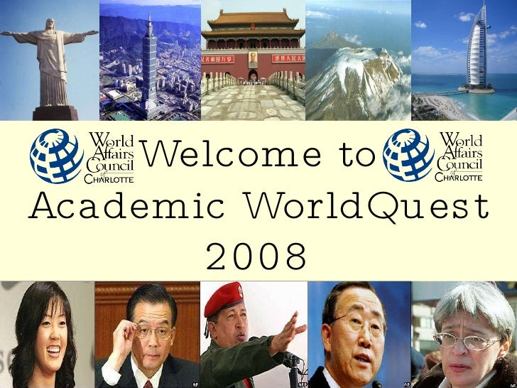 WACC Academic WorldQuest 2008