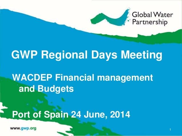 WACDEP Financial Management