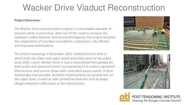 Wacker Drive Viaduct Reconstruction Wacker Drive Viaduct