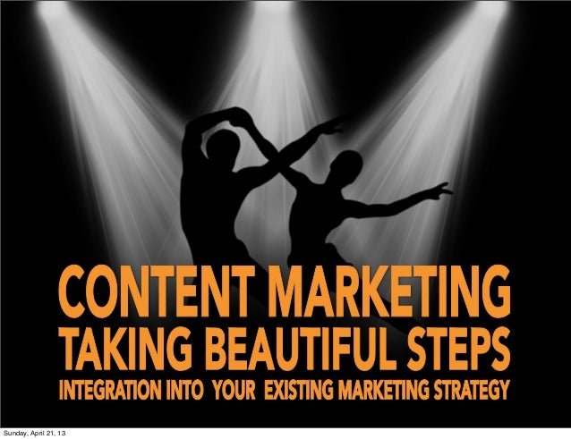 Content Marketing - Taking The First Beautiful Steps
