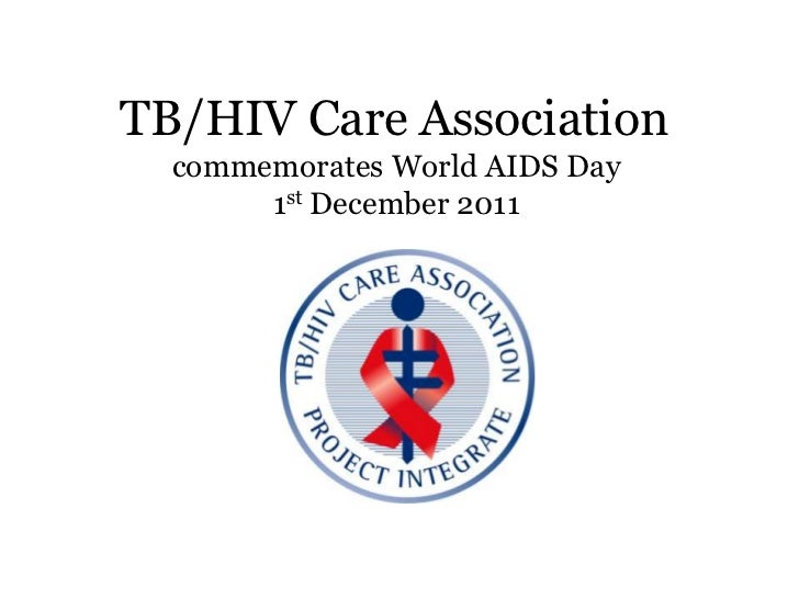 TB/HIV Care Association  commemorates World AIDS Day       1st December 2011