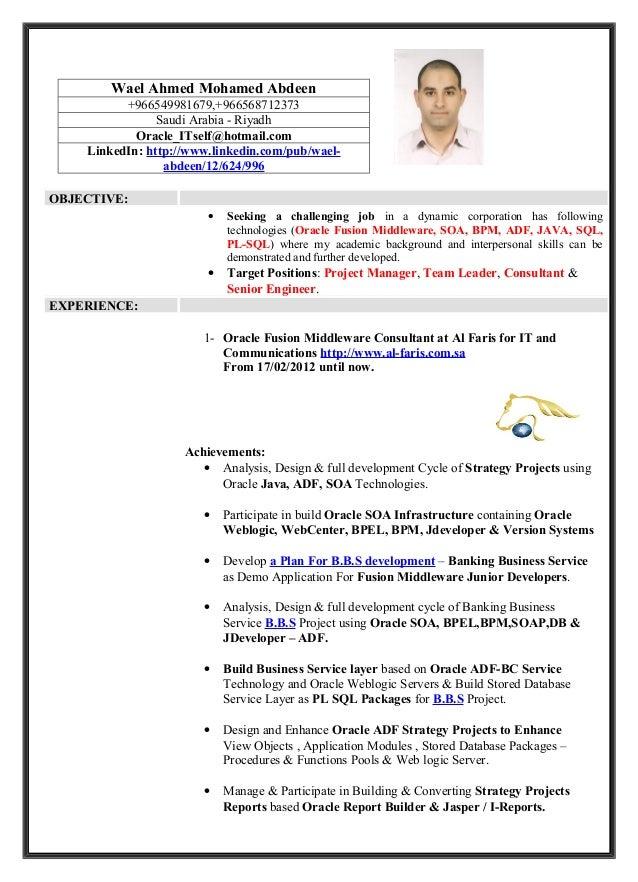 Wael Ahmed Mohamed Abdeen          +966549981679,+966568712373                Saudi Arabia - Riyadh            Oracle_ITse...