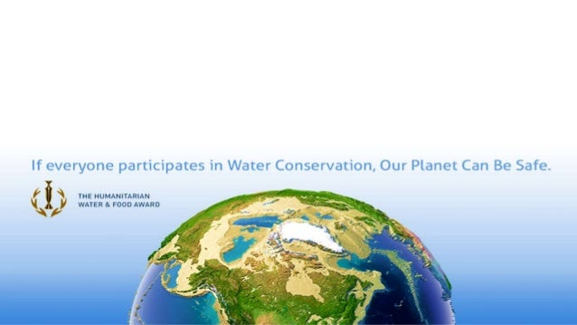 The Story of the Humanitarian Water and Food Award