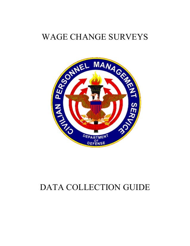 WAGE CHANGE SURVEYSDATA COLLECTION GUIDE
