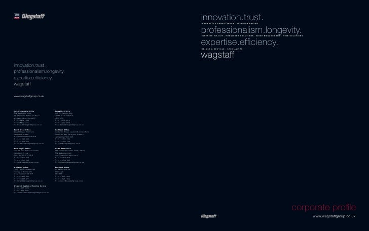 Wagstaff Corporate Profile 2012   Email