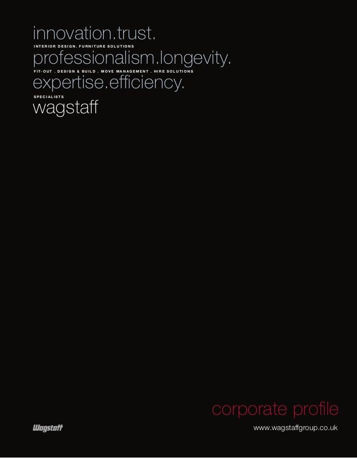 Wagstaff Corporate Profile.Pdf 29.3.11