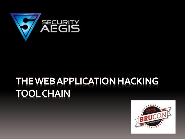 The Web Application Hackers Toolchain