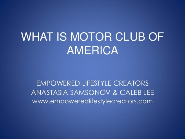 What is motor club of america mca mca scam motor for Motor club america scam