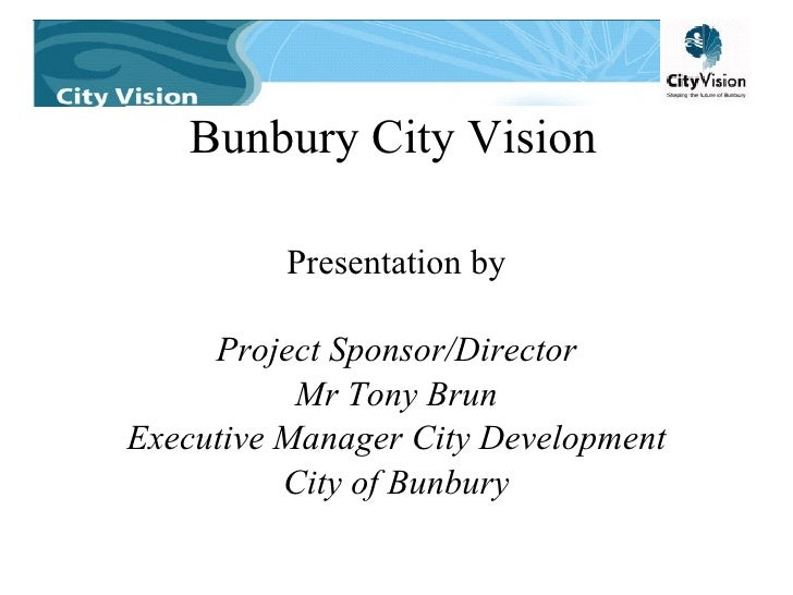 Wa Infrastructure   City Vision 2005