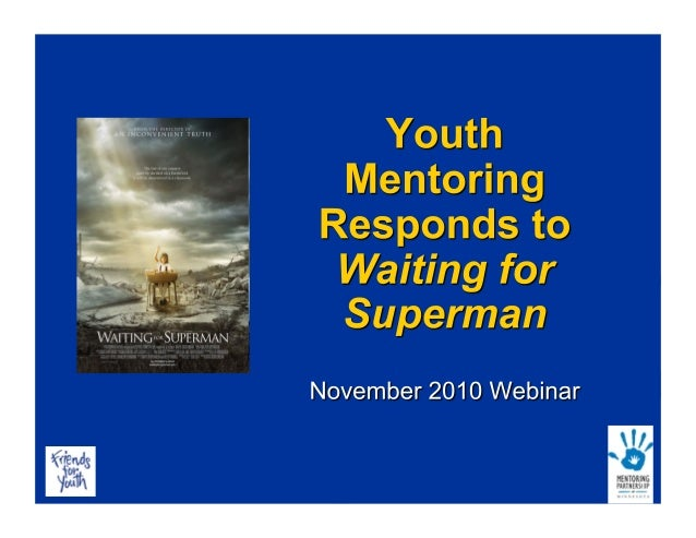 Youth Mentoring Responds to Waiting For Superman