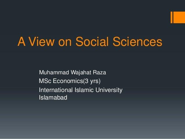 Wajahat (social science)