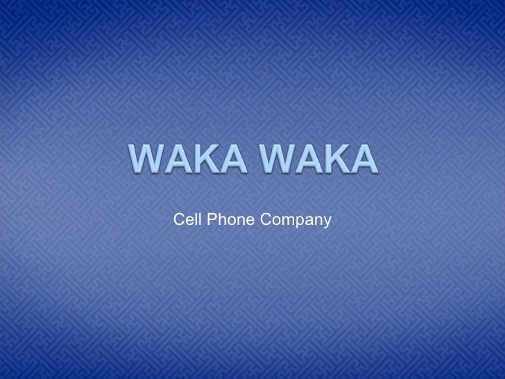 Cell Phone Company