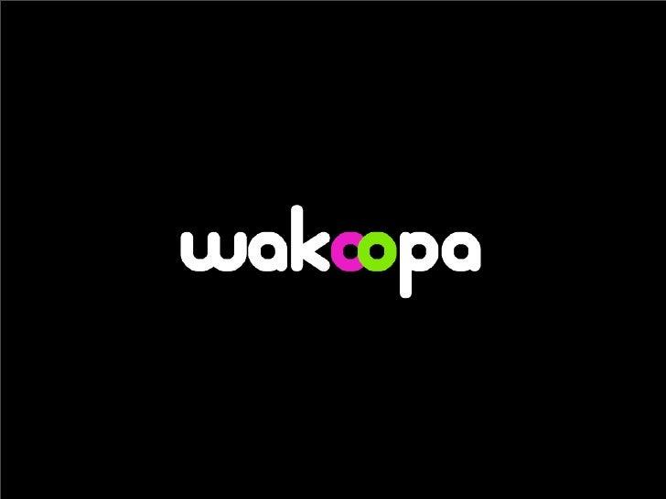Wakoopa at The Next Web 2008