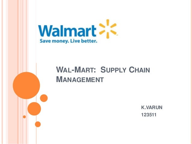 (PDF) A Case Study of Wal-Mart's