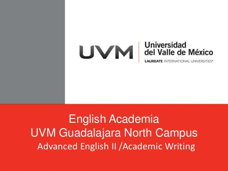 English course academic writing