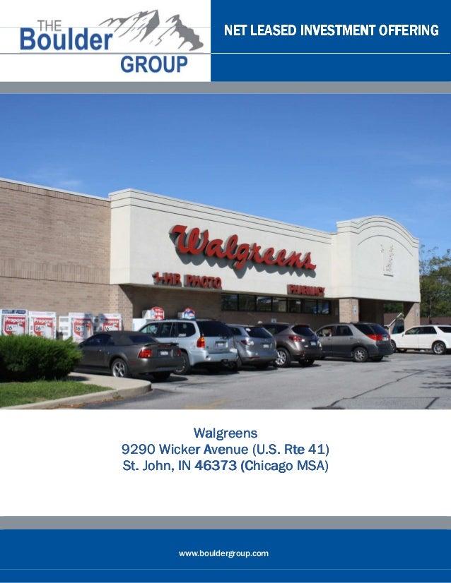 Net Lease Walgreens for sale