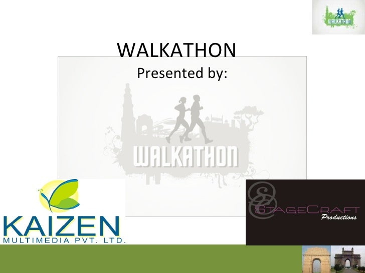 WALKATHON Presented by: