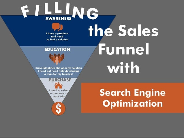 Filling the Sales Funnel with Search Engine Optimization