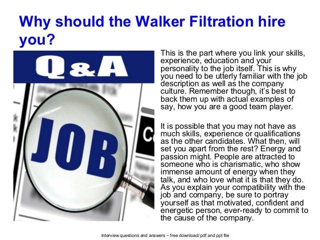 Walker Filtration Logo The Walker Filtration Hire
