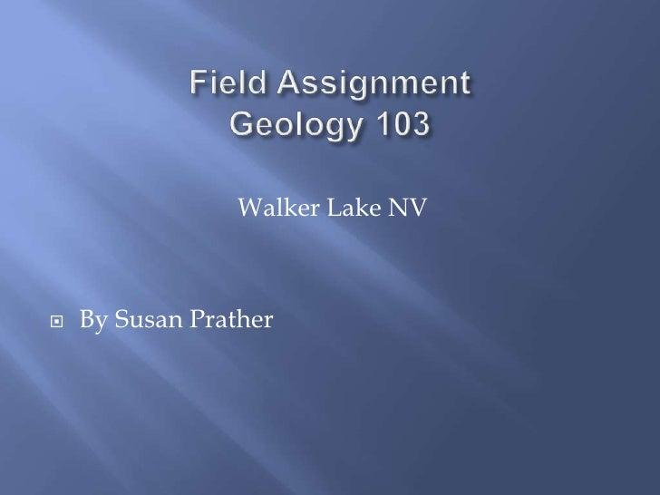 Walker Lake NV   By Susan Prather