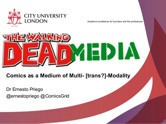 The Walking Dead Media (Graphixia13, Douglas College, New Westminster, BC 15 June 2013)