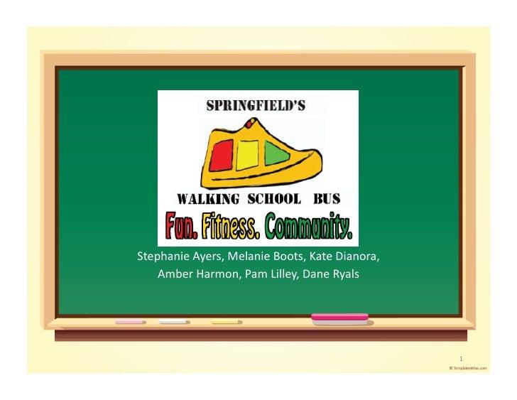 Walking School Bus Campaign