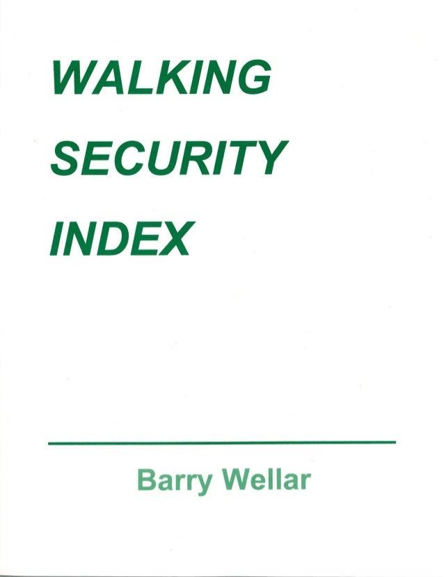 Walking Security Index
