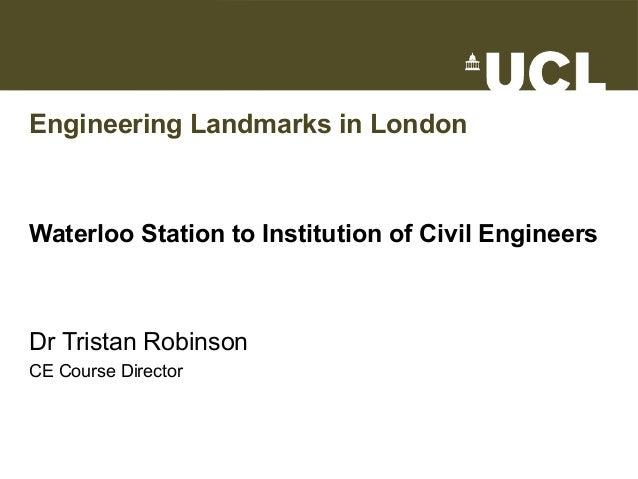 Engineering Landmarks in London
