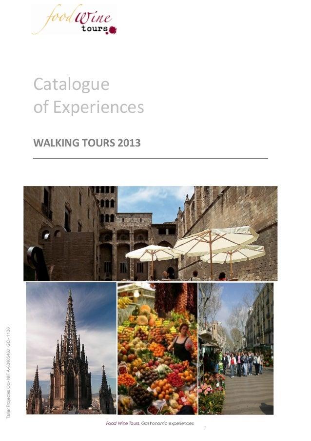 Food Wine Tours - Walking tours