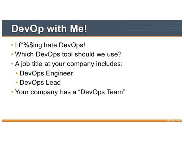 DevOp with Me!