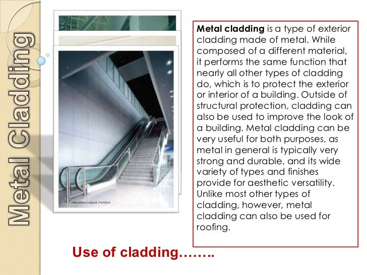 Types Of Exterior Wall Cladding : Wall cladding