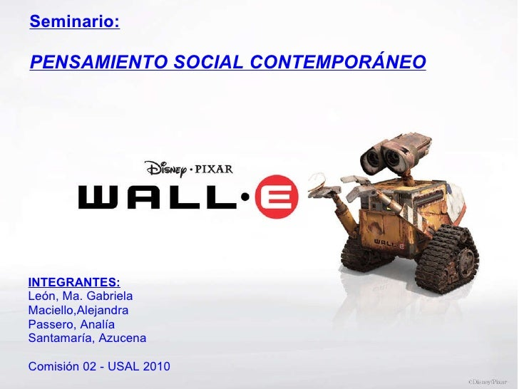 <ul><li> </li></ul>Seminario: PENSAMIENTO SOCIAL CONTEMPORÁNEO INTEGRANTES: León, Ma. Gabriela Maciello,Alejandra Passero...