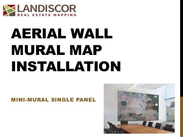 aerial wall mural installation wall mural installation in living rooms interior