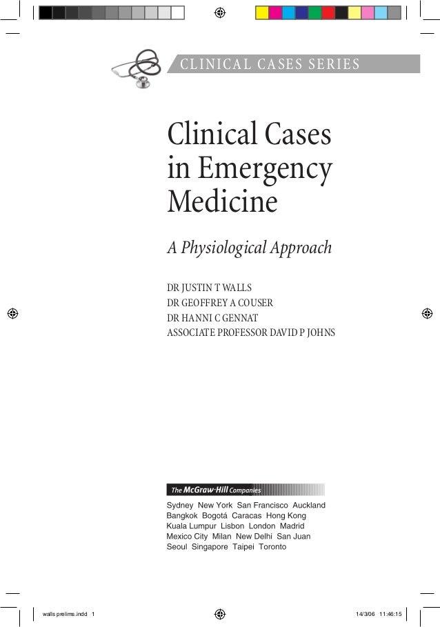 medical case study layout
