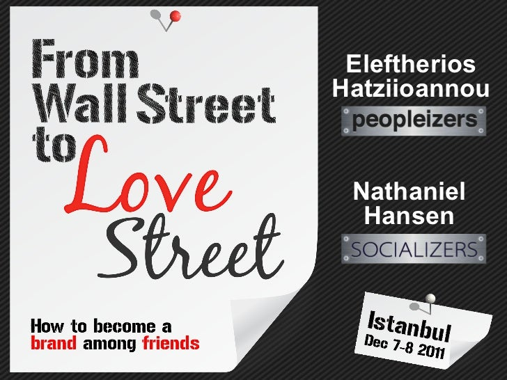 Eleftherios Hatziioannou Nathaniel Hansen