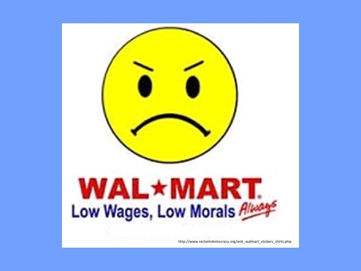 http://www.reclaimdemocracy.org/anti_walmart_stickers_shirts.php