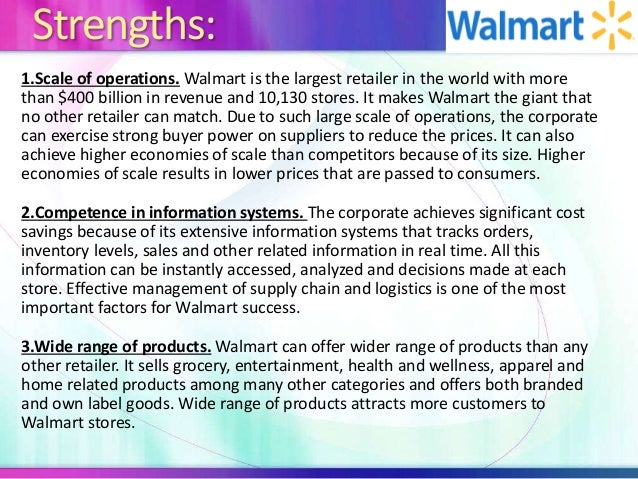 walmart information system The enterprise system spectator friday  centralized information systems wal-mart runs all worldwide information systems out of its headquarters in arkansas.