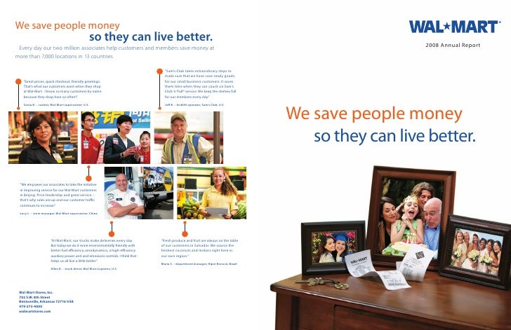 Wal Mart Annual Report 2008