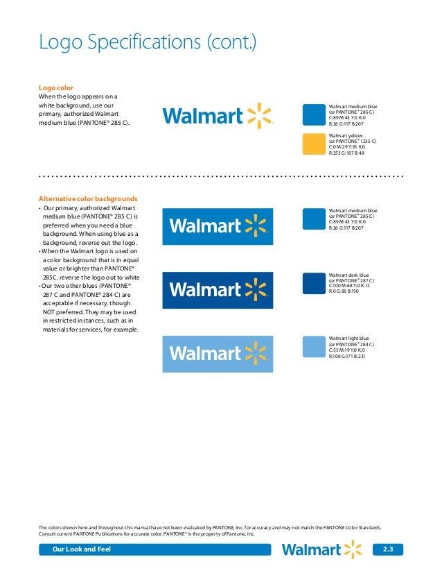 Walmart Colors Logo Logo Color When The Logo