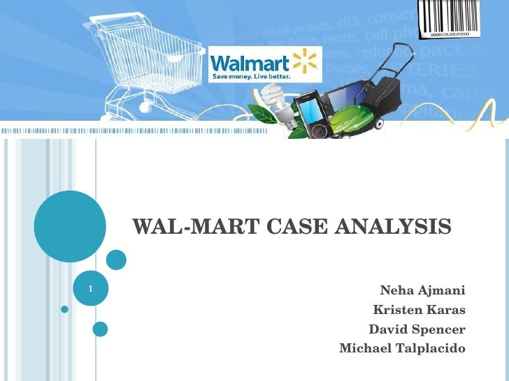 MBA Student Case Competition -Walmart Case Third Place Team
