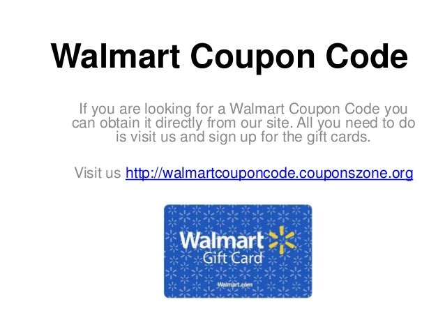 Walmart coupon codes 20 off