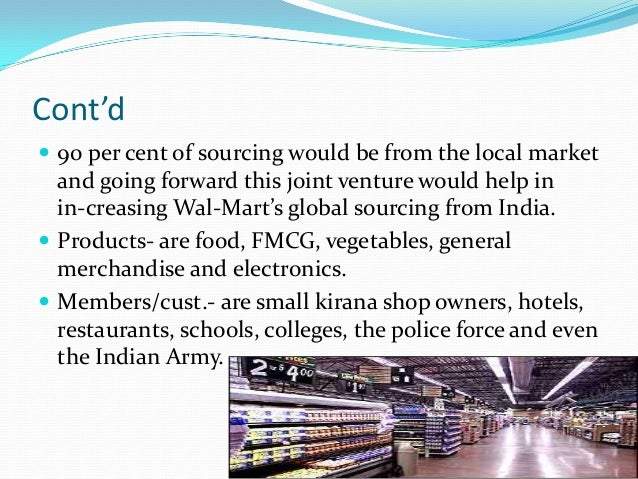 essay on walmart in india While walmart's growth has exceeded anyone's dreams, its shifting strategies in india, japan and germany highlight the difficulties of operating a worldwide company.
