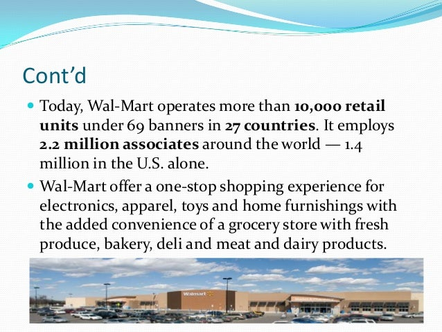 wal mart internalexternal factors essay Internal and external factors affect companies in many different ways some of the internal and external factors affecting wal-mart are globalization, new technology, innovation, diversity, and ethics.